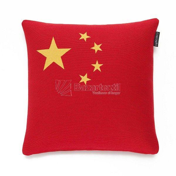 COJÍN CHINA-FLAG