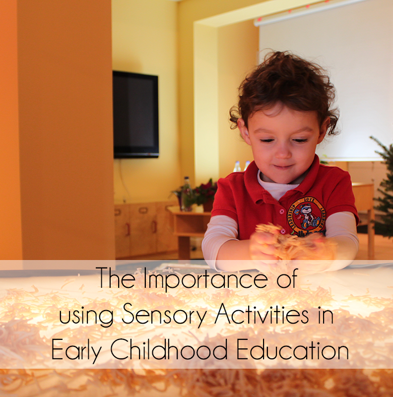 early childhood education learning through the senses Early childhood counts: programming resources for early active learning.
