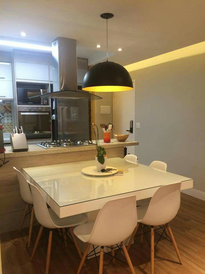 Pin de Bibi en Iluminacion | Pinterest | Mesas, Cocinas y Comedores