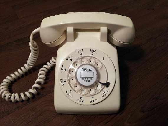 CLASSIC working  rotary phone from Western Electric. Description from etsy.com. I searched for this on bing.com/images