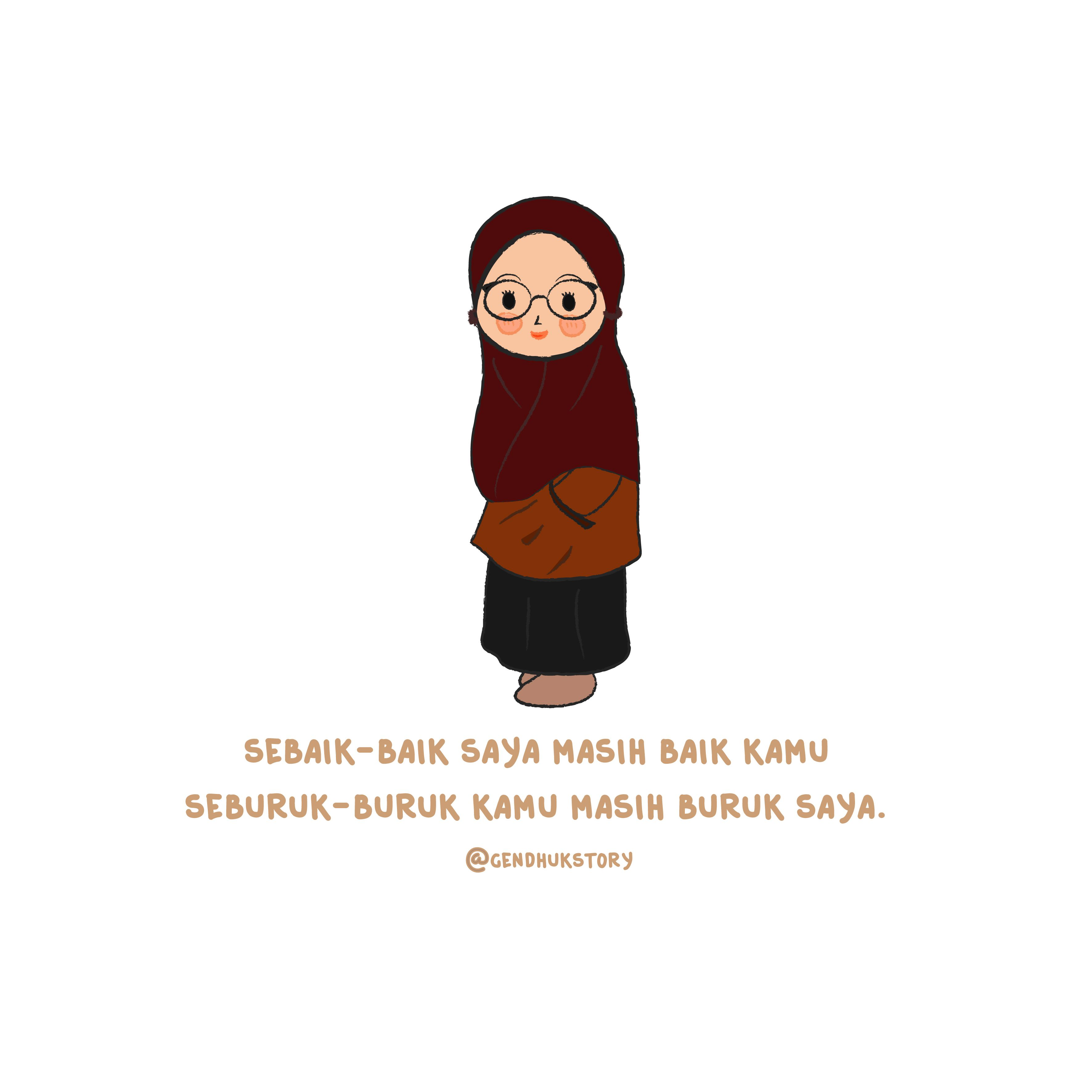 Pingl Par Dita Abidah Sur Muslimah Gendhukstory Pinterest
