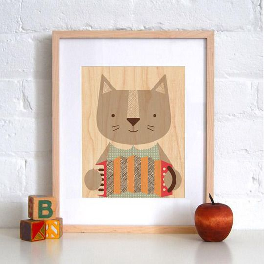Love these cat prints from @petitcollage