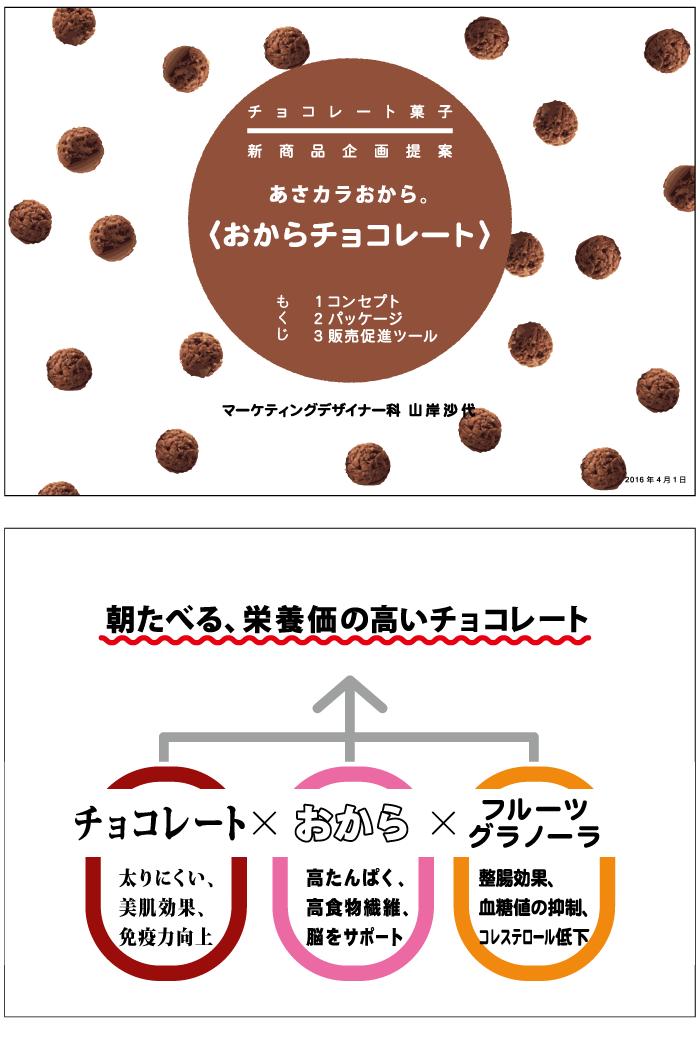 チョコレート菓子の企画書 一部抜粋 画像 企画 書 デザイン 提案書 ウェブデザインのレイアウト
