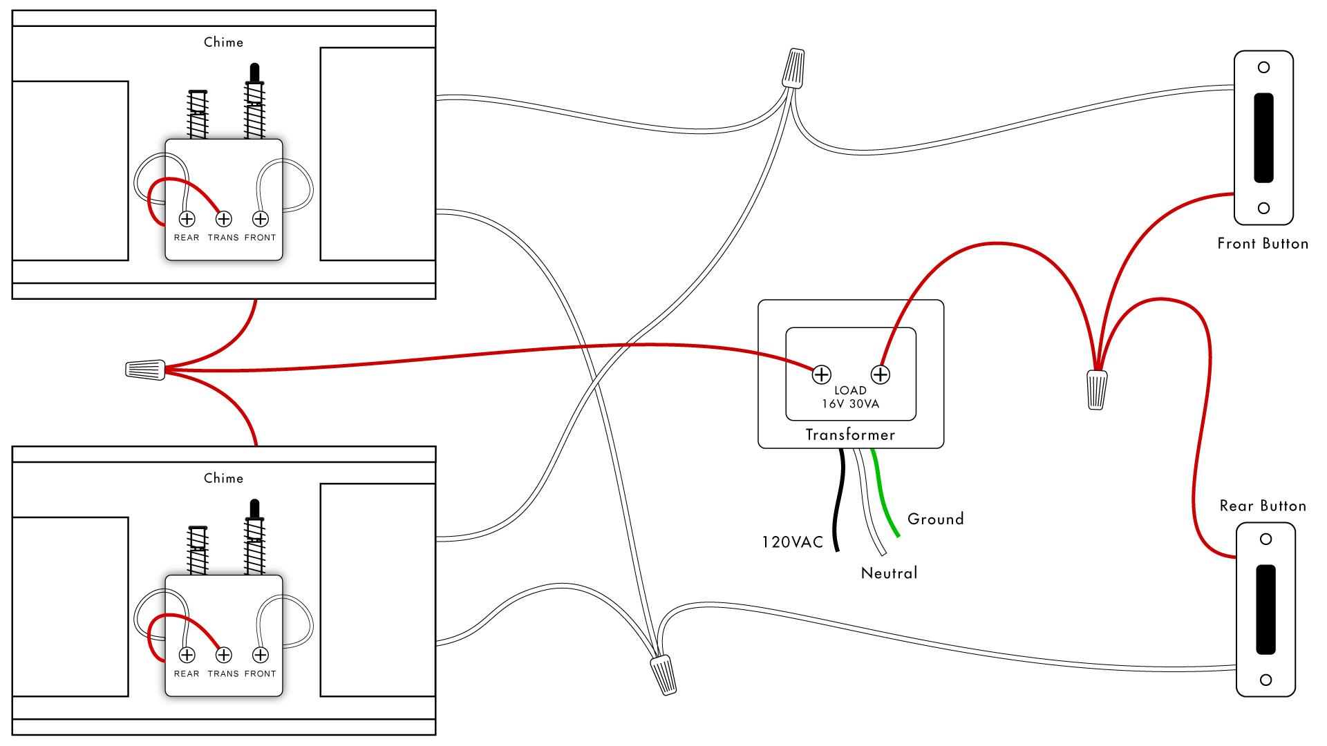 Ring Doorbell Transformer Wiring Diagram : Replacing