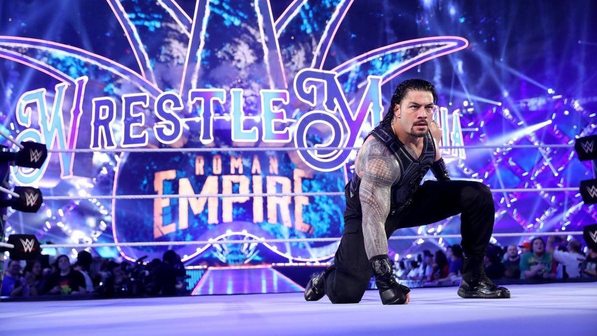 Roman Reigns #WrestleMania | Wwe superstar roman reigns, Roman reigns wrestlemania, Wwe roman reigns