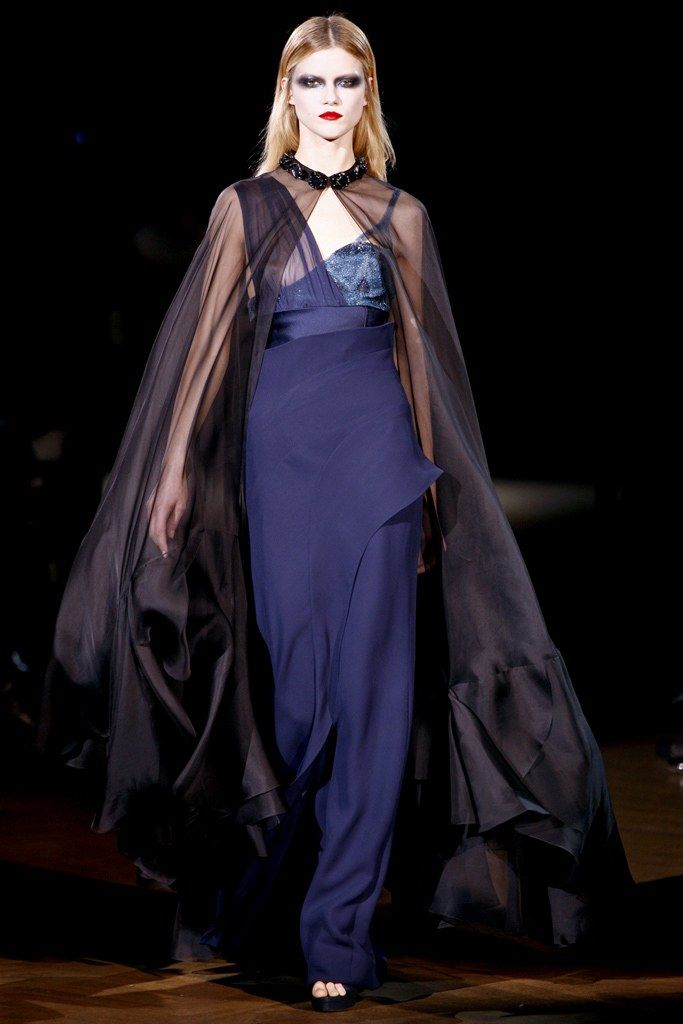 Givenchy Spring 2010 Couture Fashion Show - Kasia Struss (Women)