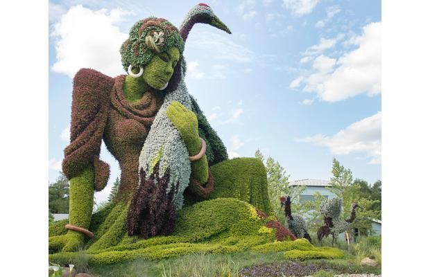 Jaw Dropping Botanical Sculptures In Montreal Designers From Around The  World Showcase Their Whimsy At Montrealu0027s Botanical Gardens As Part Of  Mosaïcultures ...