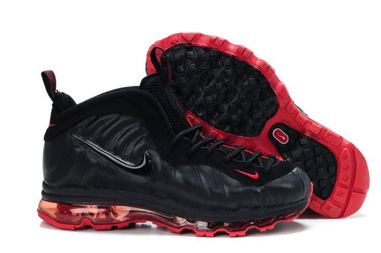 size 40 31f5a 42a5a Foamposite Air Max Fusion Men Pro Black Red