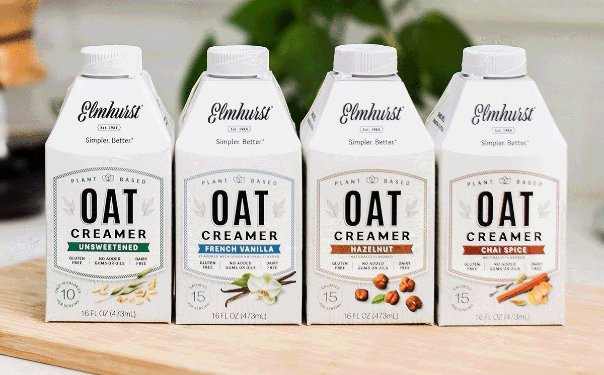 Elmhurst oat creamer reviews info dairyfree gluten