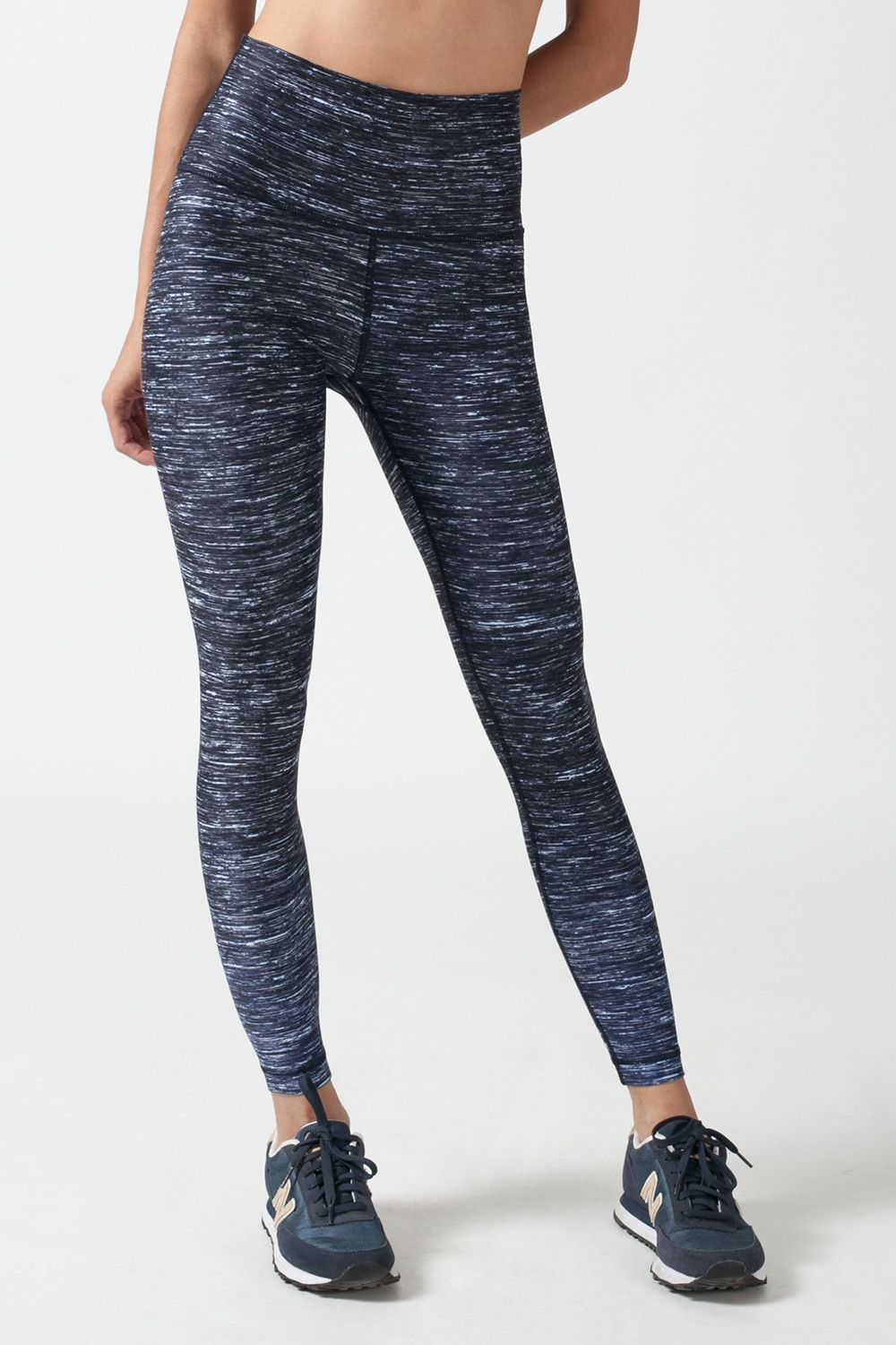 ELECTRIC SNOW HIGH WAISTED LEGGINGS