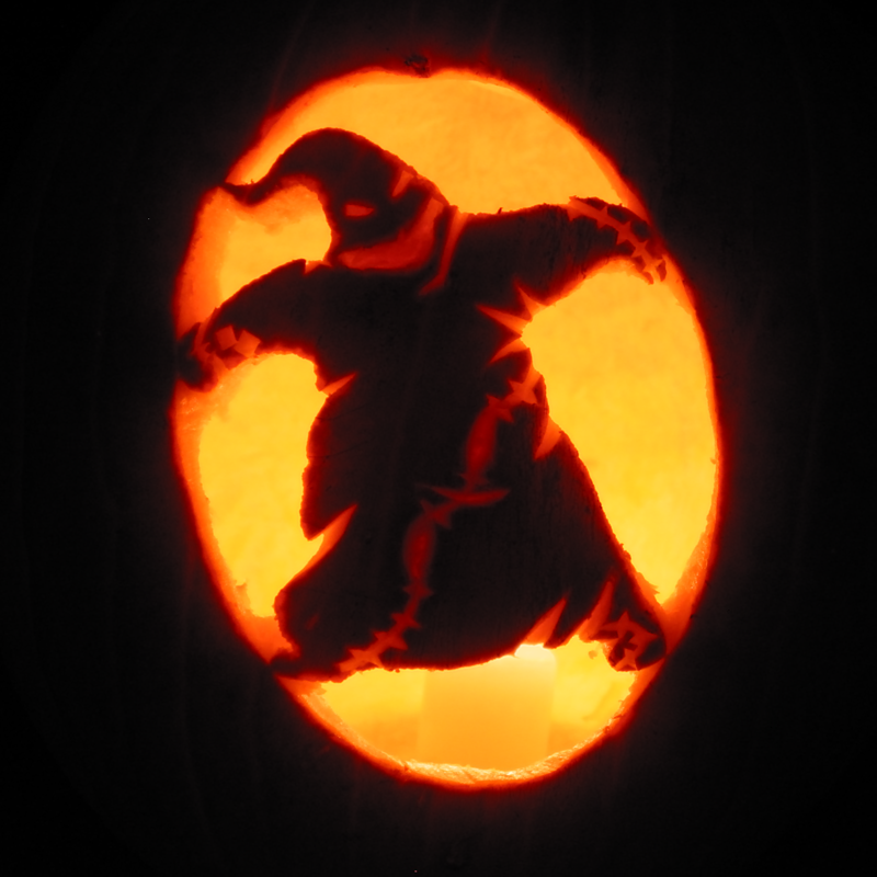 Gallery For > Nightmare Before Christmas Pumpkin Stencils Boogie ...