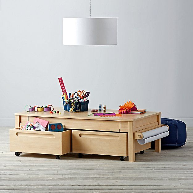 Adjustable Natural Activity Table Bins Set of 2 Activities