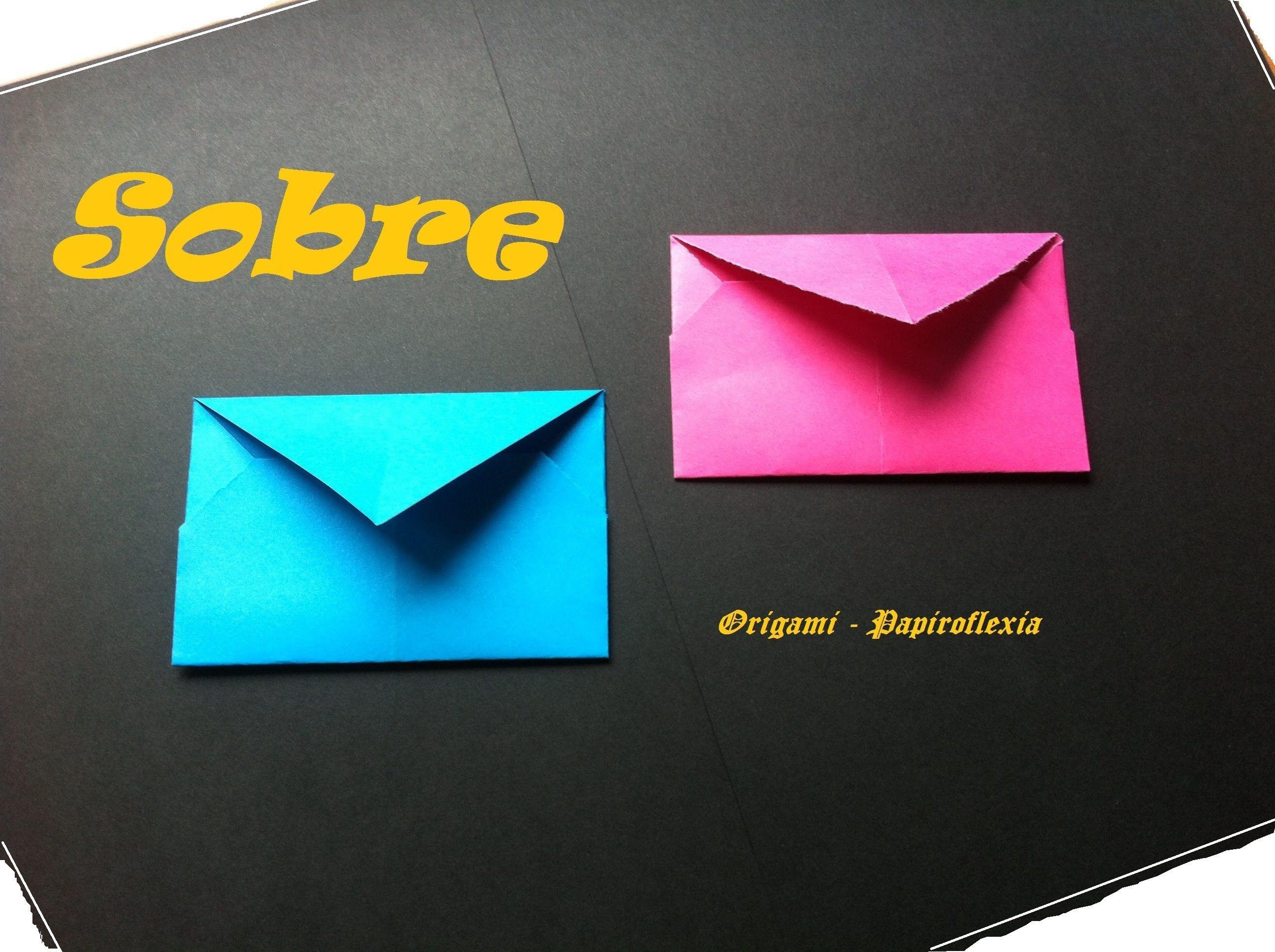 origami papiroflexia sobre sencillo manualidades