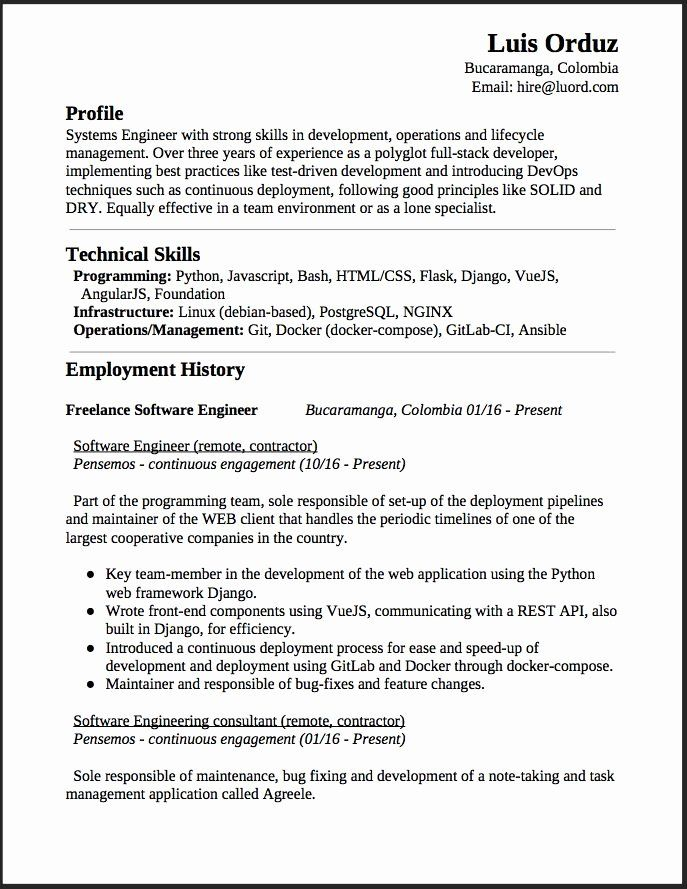 Full Stack Java Developer Resume New 1902 Best Free Resume