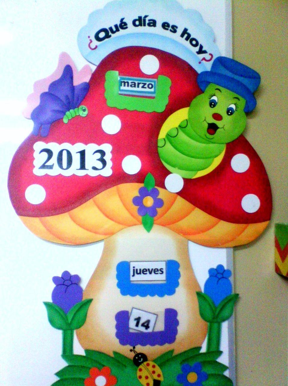 Calendario Para Niños En Goma Eva Manualidades Escolares Decoraciones Escolares Tablero De Cumpleaños