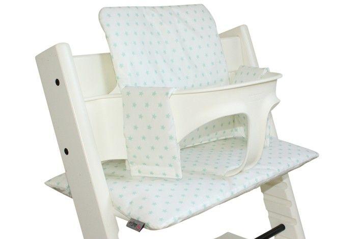 Tripp Trapp Kussen : Tripp trapp stoelverkleiner wit geplastificeerd kussen met