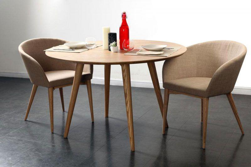 Idées Déco De Table Table Ronde En Bois Table Ronde Et Table - Table ronde extensible 12 personnes pour idees de deco de cuisine