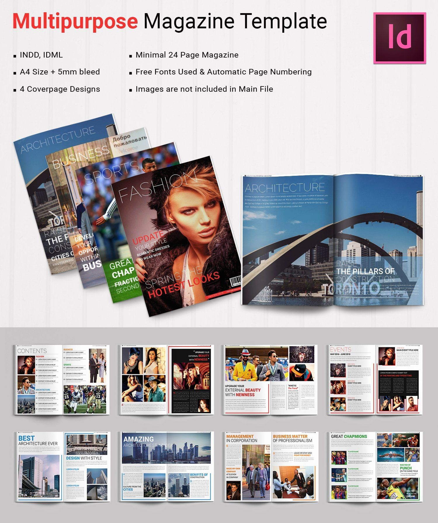 Magazine Templates For Microsoft Word Lovely 55 Brand New