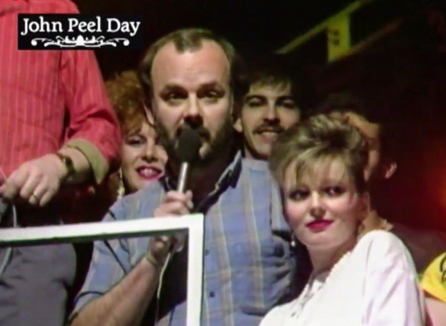 Image result for john peel and clare grogan