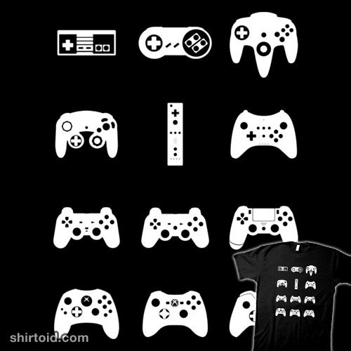 Minimalist Game Controllers Banner Logo Games Game Controller