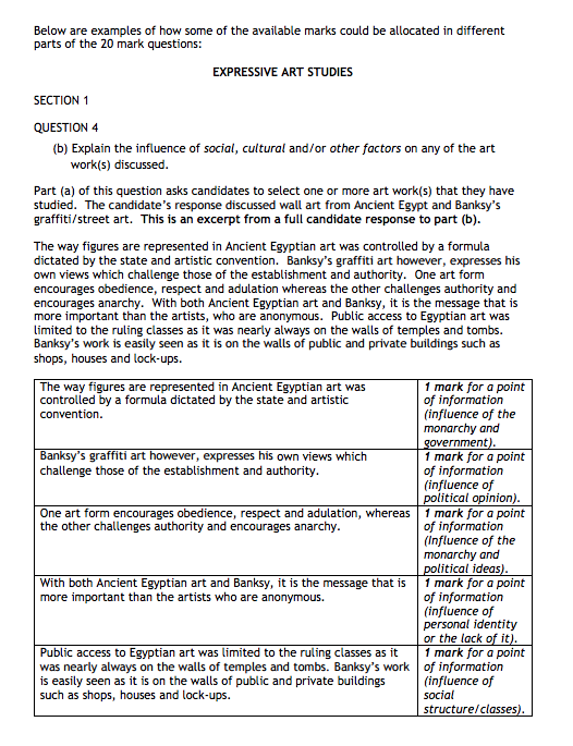 Social And Cultural Question Marking Instructions And Example
