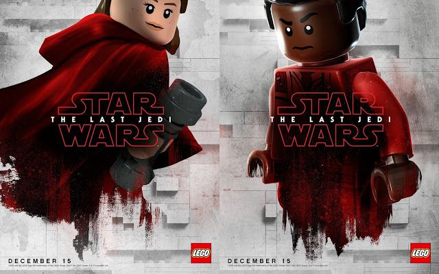Lego Versions Of The Last Jedi Character Posters Released Last Jedi Jedi Character