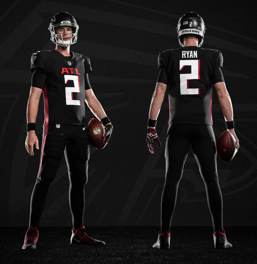 Back In Black A Brief Look At Atlanta Falcons Uniforms Throughout The Decades In 2020 Atlanta Falcons Atlanta Falcons Football Atlanta Falcons Wallpaper