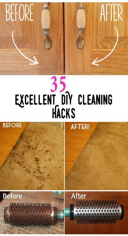 """Top 35 Excellent DIY Cleaning Hacks Intelligent Cleaning Tips & hack DIYs CONTINUE:https://t.co/xfVZTLfBTL"""