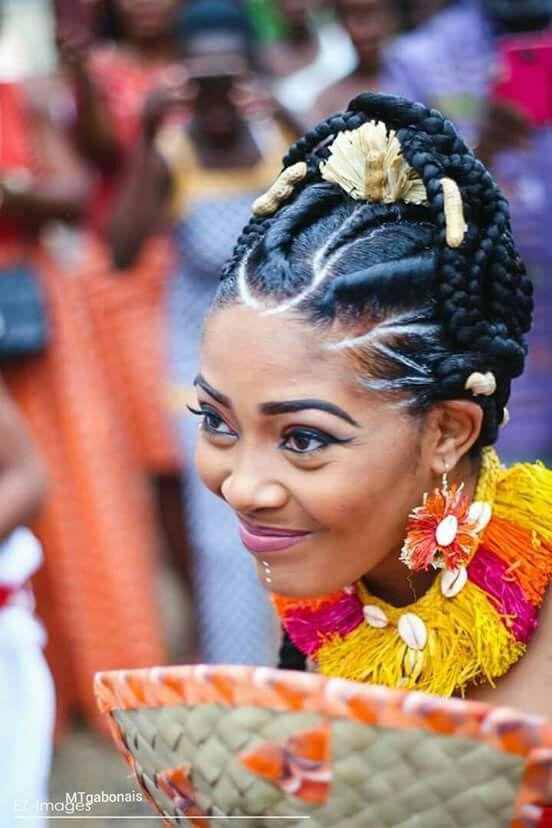 Omissa Gabon Mariage Coutumier En 2019 Tenue Mariage