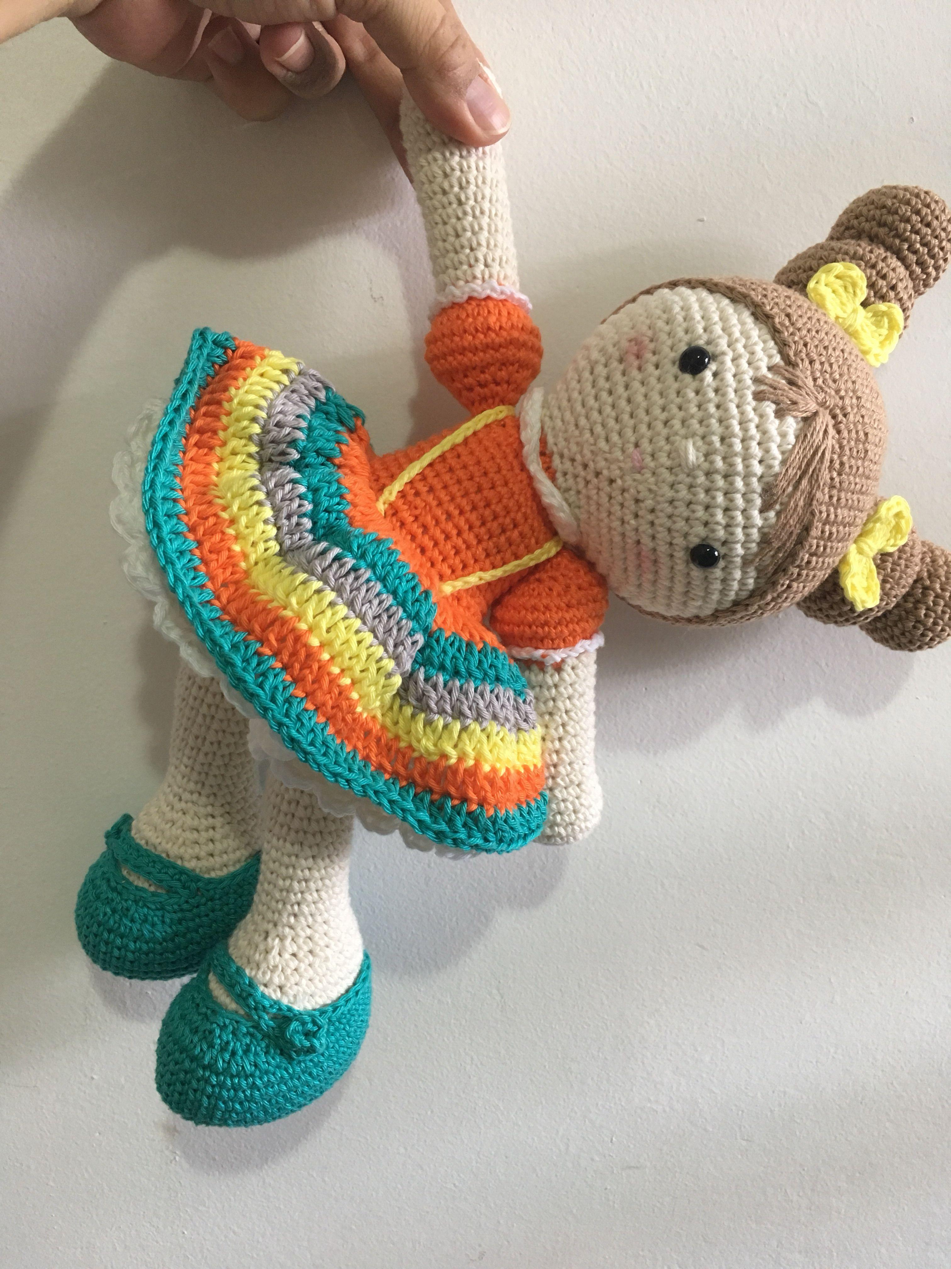 Boneca amigurumi/ boneca crochê (Angela) | Bonecas de crochê ... | 4032x3024