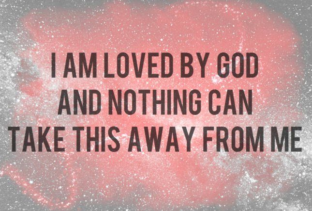 Chosen God Loves Me Who Am I Quotes Gods Love Quotes