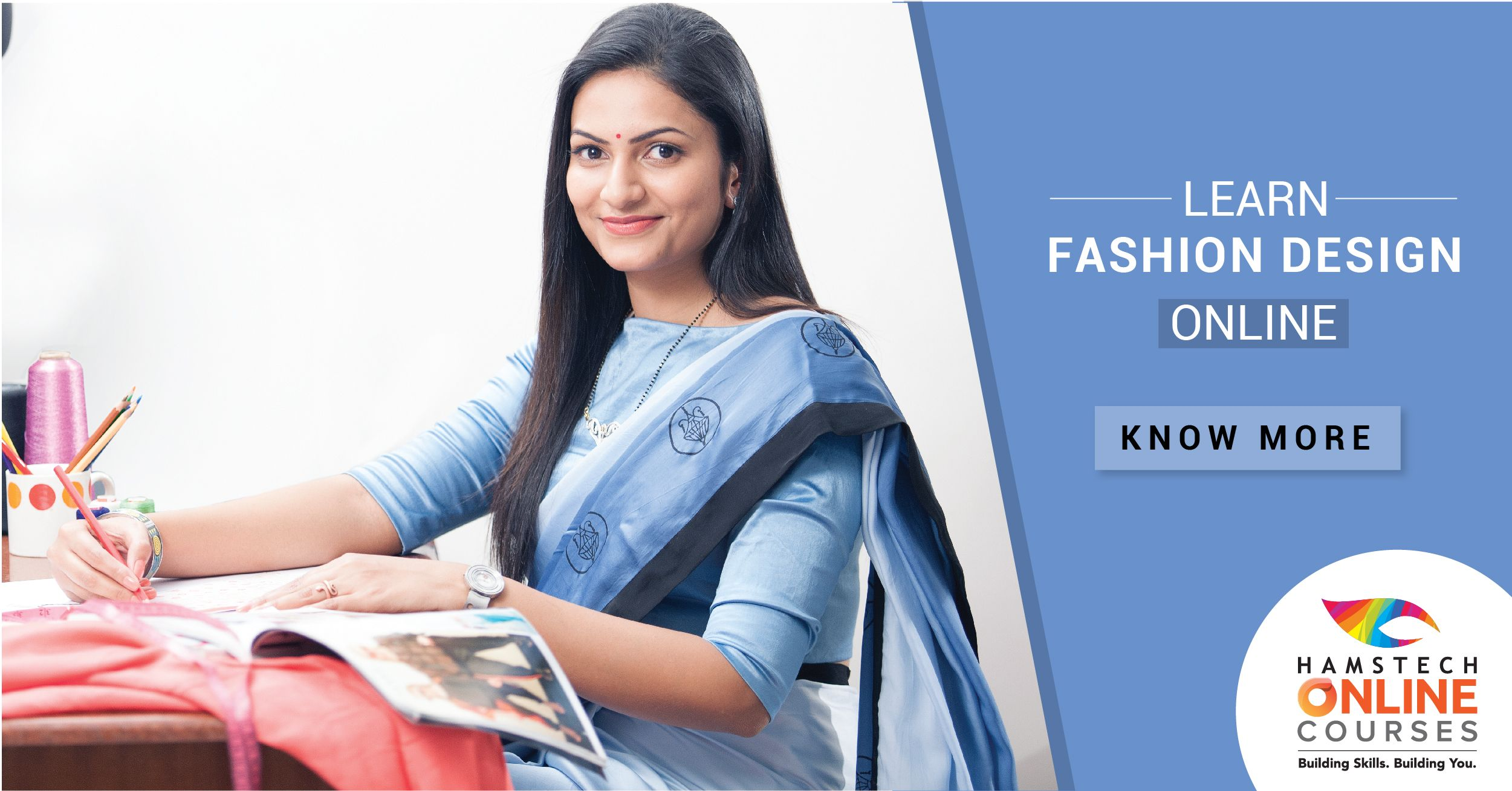 Yes It S Now Possible To Learn Fashion Designing From The Comfort Of Your Home With Hamstech Online Cou Fashion Designing Course Fashion Design Online Courses