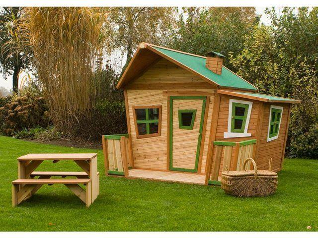 maison enfant jardin pour le bonheur de vos enfants - Maison De Jardin Enfant En Bois