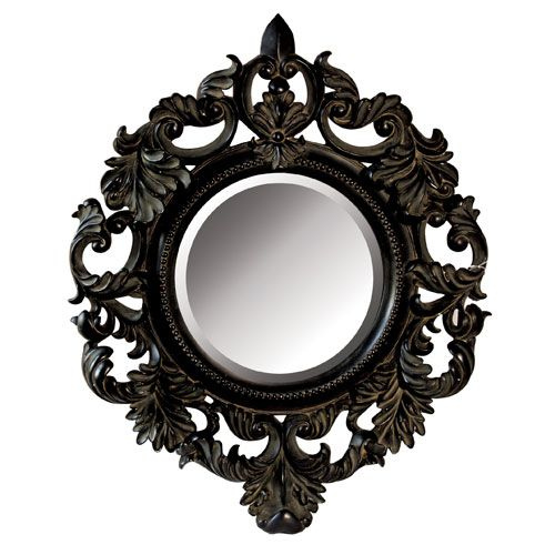 I Think This Is So Pretty White Ornate Mirror Ornate Mirror Mirror Decor