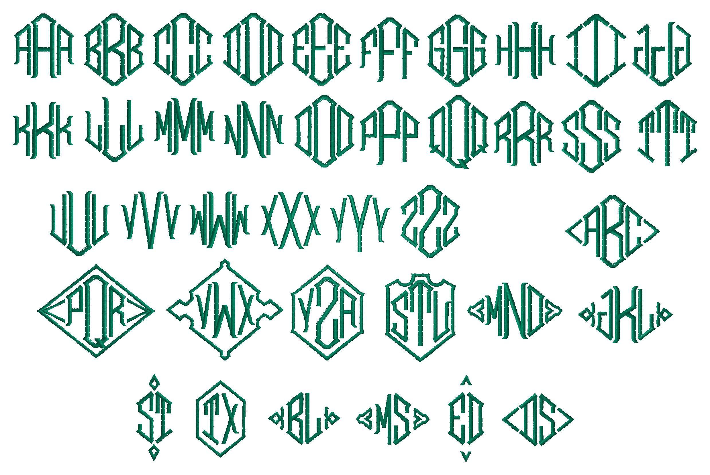 3 Letter Diamond 3 letter logo, Lettering