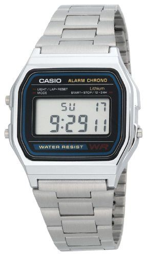 09a57485e7f Casio Men s A158W-1 Classic Digital Bracelet Watch for  14.96 Digital  Watch