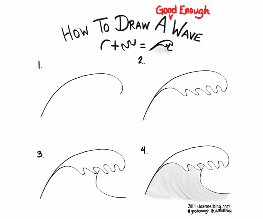 How to draw a good enough wave tutorial image from jeannelking how to draw a good enough wave tutorial image from jeannelking ccuart Gallery