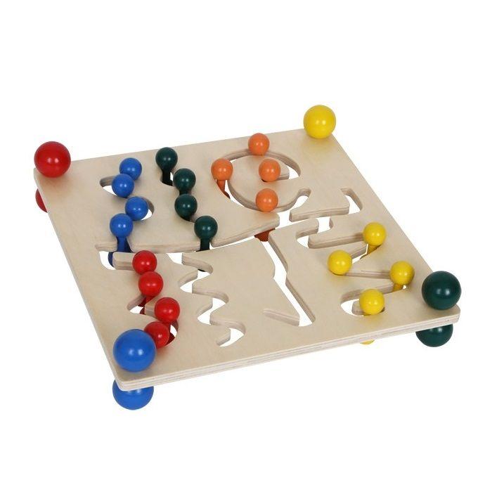 Juguete de #madera educativo para #niños para entrenar la - new tabla periodica en juego didactico