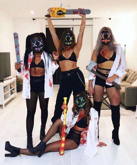 TheLightUpMask.com - Halloween Mask - Purge Mask - LED Mask