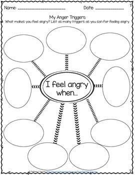 photograph relating to Anger Management Printable Worksheets titled Anger Manage Worksheets Kids With Psychological