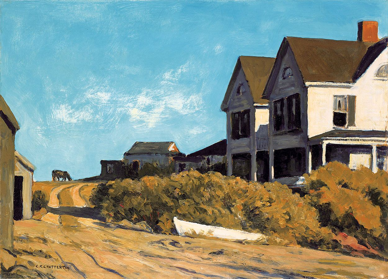 Clarence K. Chatterton, Road to Ogunquit, ca.1940
