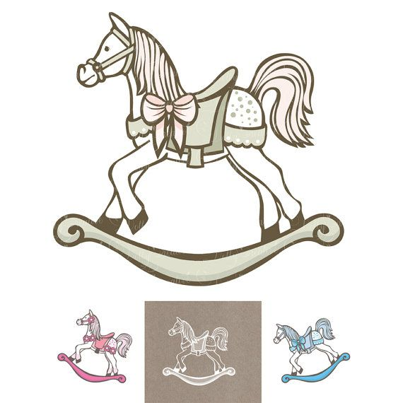 4 horses 4 png files no background boy high resolution new birth birthday 300 dpi, baptism girl