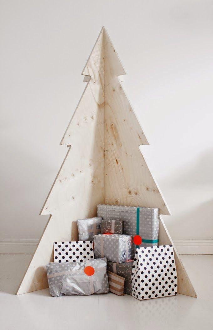 10 ideas alternativas para un rbol de navidad original - Arboles De Navidad Originales