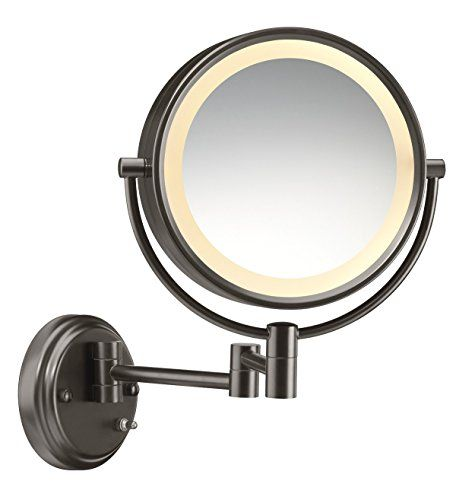 Conair Illuminations Wall Mount Oiled Bronze Lighted Mirror Click On The Image For A Wall Mounted Lighted Makeup Mirror Wall Mounted Light Modern Mirror Wall