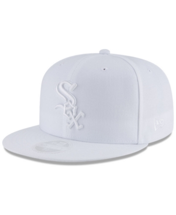 wholesale dealer 41053 cc1aa New Era Chicago White Sox White Out 59FIFTY Fitted Cap - White 7 1 2