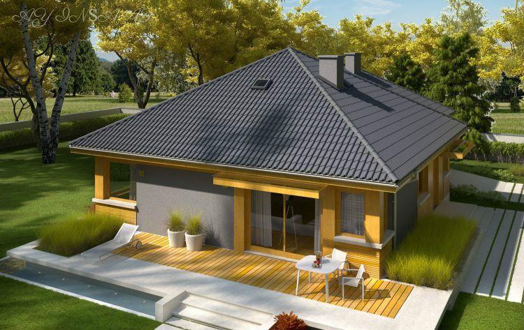Torpaq Sizdən Evin Tikinti Təmir Və Dizayn Bizdən Evlərin Bag Evlərin Villalarin Ticarət Mərkəz Modern Bungalow House House Plans Tiny Little Houses