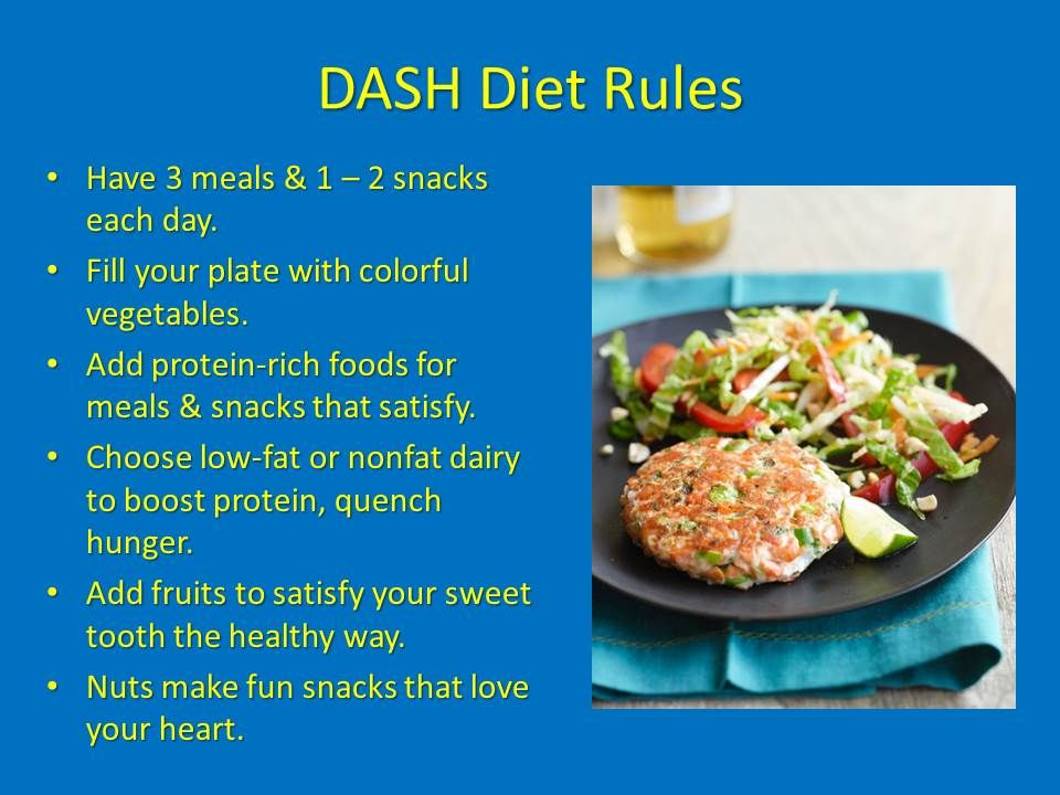 DASH diet is ranked as the best diet and the healthiest