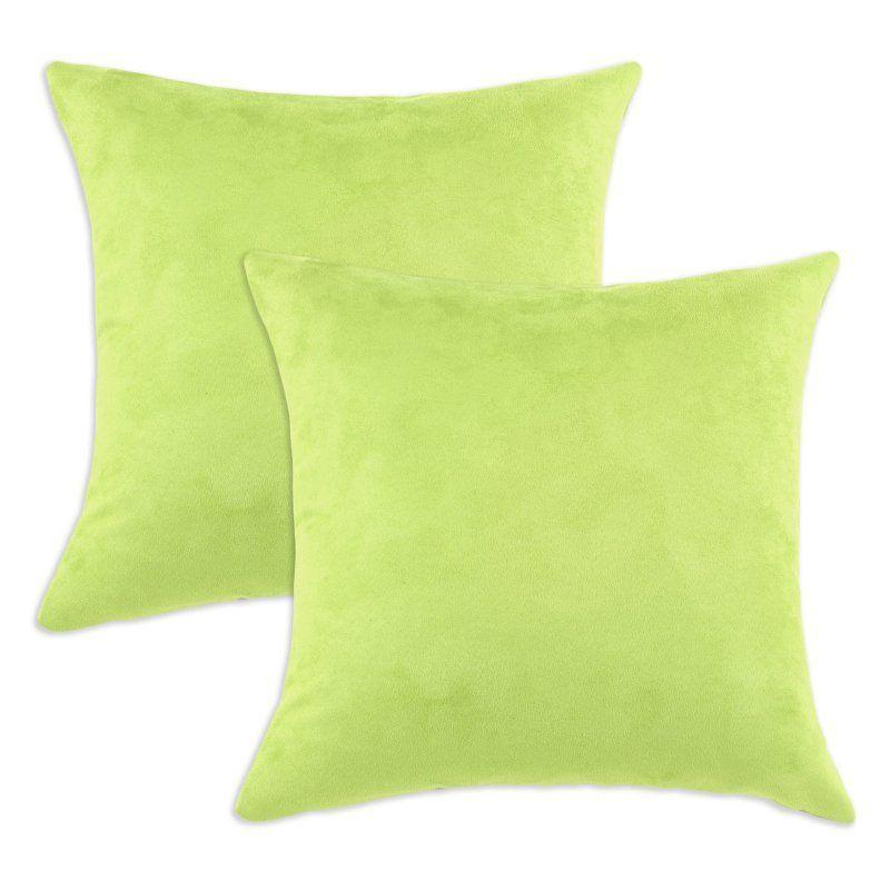 Brite Ideas Living Passion Suede D-Fiber Pillow - Set of 2