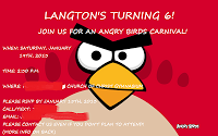 How I turned my son's birthday carnival into the Angry Birds party he wanted!