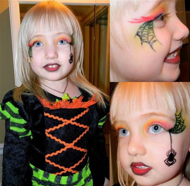 Witch Make Up Kids Bing Images Maquillaje Infantil Maquillaje